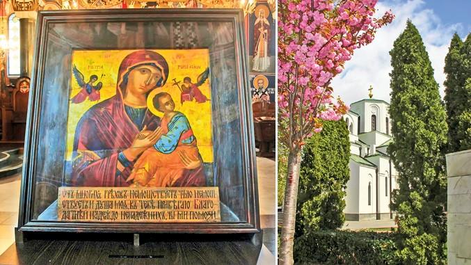 Богородица анђела, најстарија икона београдска - Čudo